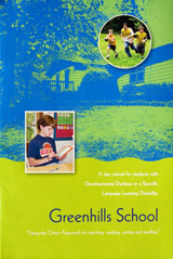 The Brochure for Greenhills School